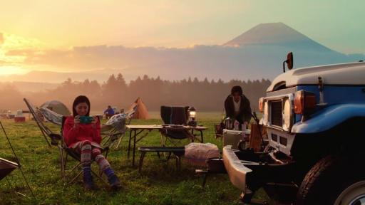 gamers camping